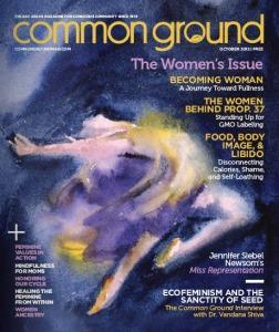 Common Ground October 2012:  The Women's Issue