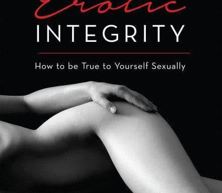 The Erotic Integrity book cover is ready!