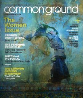 Common Ground magazine cover October 2014