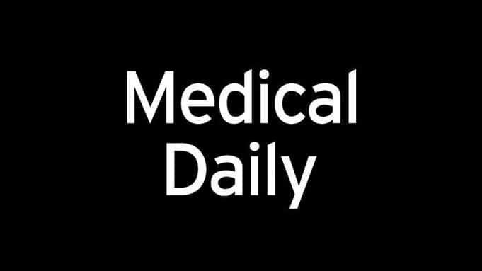 medical daily logo white on black